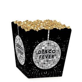 70's Disco - Party Mini Favor Boxes - 1970s Disco Fever Treat Candy Boxes - Set of 12