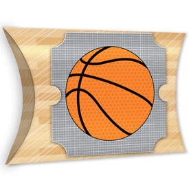 Nothin' But Net - Basketball - Favor Gift Boxes - Baby Shower or Birthday Party Large Pillow Boxes - Set of 12