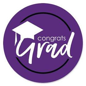 Purple Graduation Theme - Best is Yet to Come