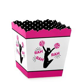 We've Got Spirit - Cheerleading - Party Mini Favor Boxes - Birthday Party or Cheerleader Party Treat Candy Boxes - Set of 12