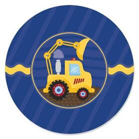 Construction Truck - Birthday Party Theme