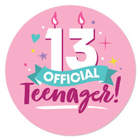 Girl 13th Birthday - Official Teenager Birthday Party