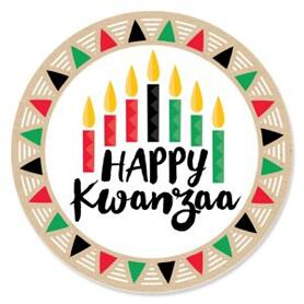 Happy Kwanzaa - African Heritage Holiday Theme