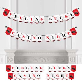 Las Vegas - Casino Party Bunting Banner & Decorations