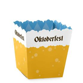 Oktoberfest - German Beer Festival Mini Favor Boxes - Party Treat Candy Boxes - Set of 12