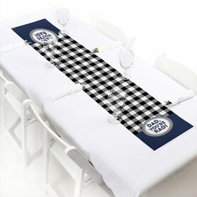 """My Dad is Rad - Petite Father's Day Party Paper Table Runner - 12"""" x 60"""""""