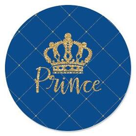 Royal Prince Charming - Baby Shower Theme