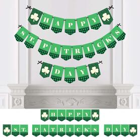 St. Patrick's Day - Saint Patty's Day Party Bunting Banner & Decorations