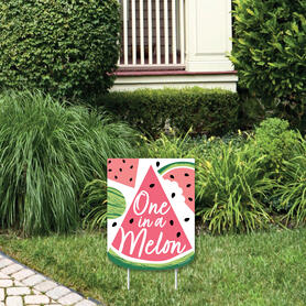 Sweet Watermelon - Outdoor Lawn Sign - Fruit Party Yard Sign - 1 Piece