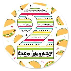 Taco Twosday - Mexican Fiesta Second Birthday Party Theme