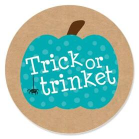 Teal Pumpkin - Halloween Allergy Friendly Trick or Trinket Party Theme