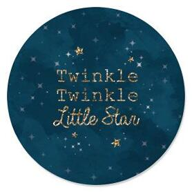 Twinkle Twinkle Little Star - Birthday Party Theme