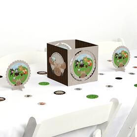 Woodland Creatures - Baby Shower or Birthday Party Centerpiece and Table Decoration Kit