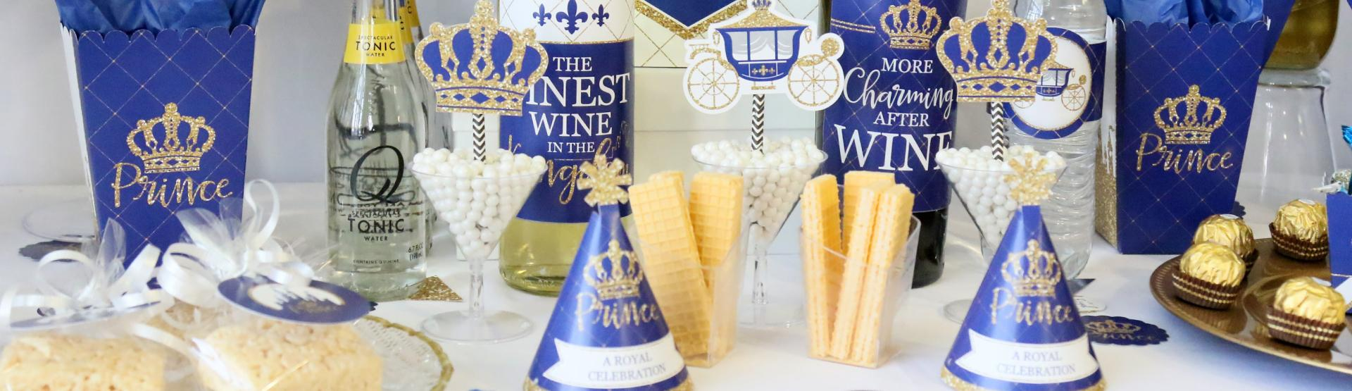 Royal Prince Charming - Party Ideas