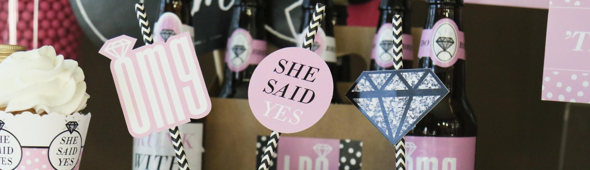 OMG, You're Getting Marries! - Engagement Party Ideas